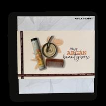 Prémium minőségű argán beauty box ajándék fésűvel
