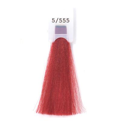MODA&STYLING Csökkentett ammóniatartalmú krémhajfesték 125 ml 5/555 - intenzív vörös