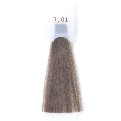 GET THE COLOR DOLCE Ammóniamentes hajfesték 100 ml 7.01 - matt hamvas szőke