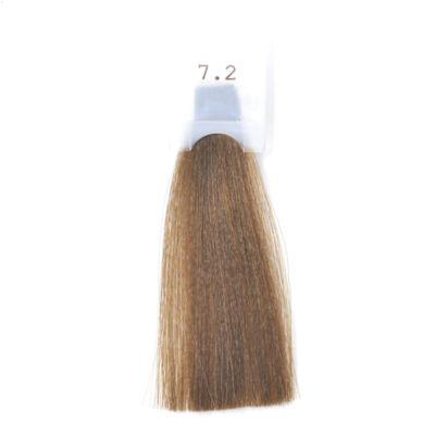 GET THE COLOR DOLCE Ammóniamentes hajfesték 100 ml 7.2 - mogyoró bézs szőke