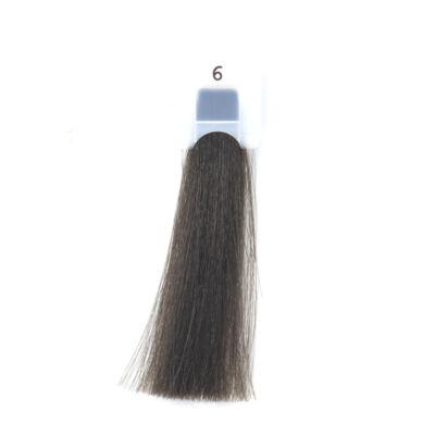 MODA&STYLING Csökkentett ammóniatartalmú krémhajfesték 125 ml 6 - sötét szőke