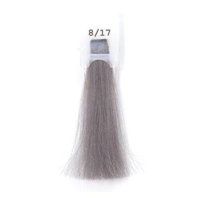 MODA&STYLING Csökkentett ammóniatartalmú krémhajfesték 125 ml 8/17 - világos hamvas gyöngy szőke