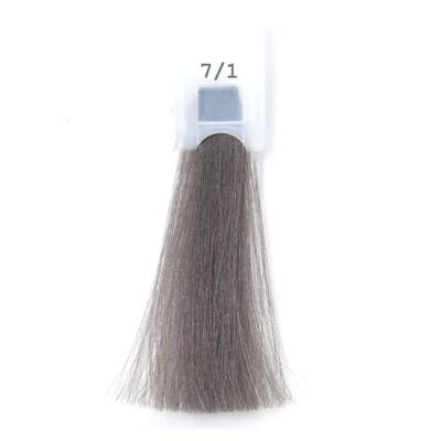 MODA&STYLING Csökkentett ammóniatartalmú krémhajfesték 125 ml 7/1 - hamvas szőke