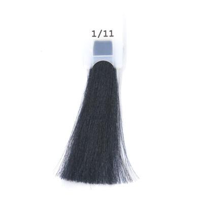 MODA&STYLING Csökkentett ammóniatartalmú krémhajfesték 125 ml 1/11 - kékes fekete