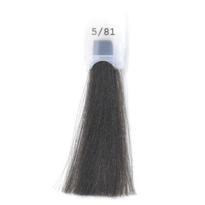 MODA&STYLING Csökkentett ammóniatartalmú krémhajfesték 125 ml 5/81  - világos barna hamvas