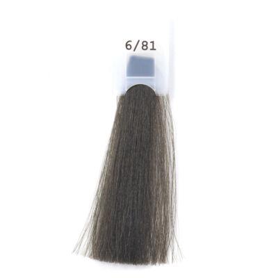 MODA&STYLING Csökkentett ammóniatartalmú krémhajfesték 125 ml 6/81  - sötét szőke hamvas