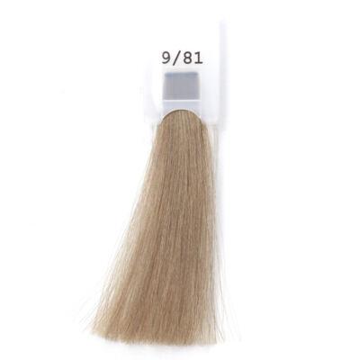 MODA&STYLING Csökkentett ammóniatartalmú krémhajfesték 125 ml 9/81  - extra világos szőke hamvas