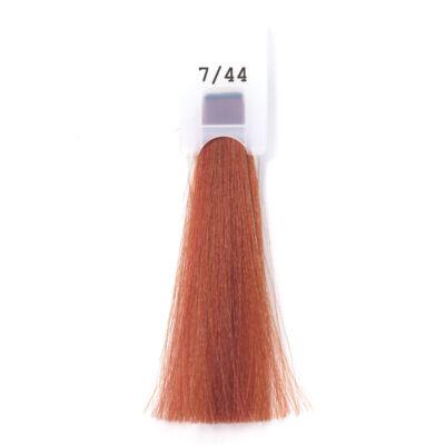 MODA&STYLING Csökkentett ammóniatartalmú krémhajfesték 125 ml 7/44 - intenzív réz szőke
