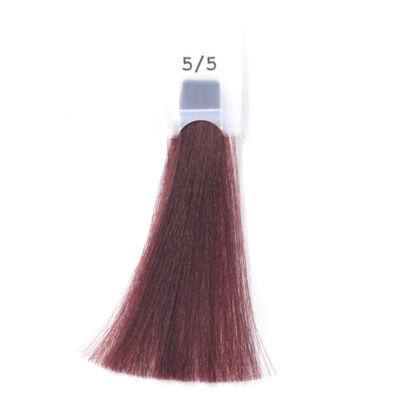 MODA&STYLING Csökkentett ammóniatartalmú krémhajfesték 125 ml 5/5 - világos vörös
