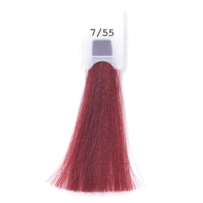 MODA&STYLING Csökkentett ammóniatartalmú krémhajfesték 125 ml 7/55 - intenzív vörös