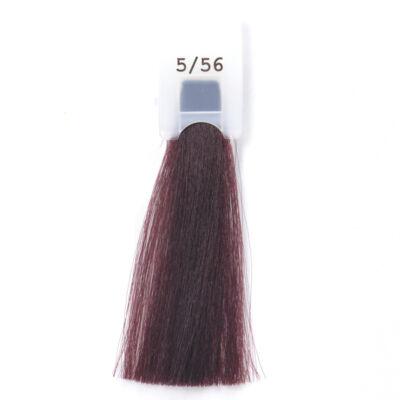 MODA&STYLING Csökkentett ammóniatartalmú krémhajfesték 125 ml 5/56 - világos mahagóni vörös