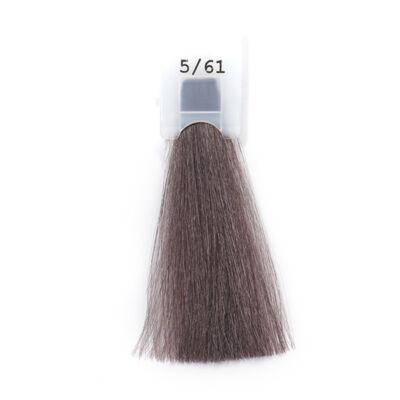 MODA&STYLING Csökkentett ammóniatartalmú krémhajfesték 125 ml 5/61 - világos hamvas mahagóni barna