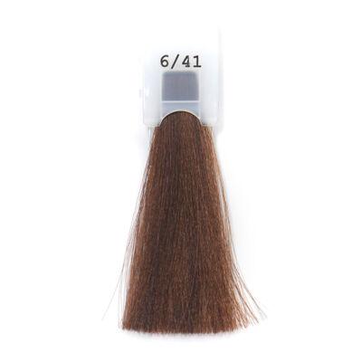 MODA&STYLING Csökkentett ammóniatartalmú krémhajfesték 125 ml 6/41 - sötét réz hamvas szőke